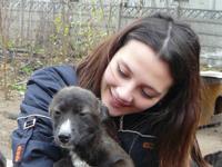 Irina Amarandei voluntar Asociatia ROBI