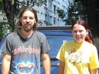 Maria si Mihnea voluntari Asociatia ROBI