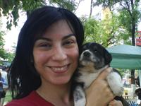 Simona Dobrica voluntar Asociatia ROBI