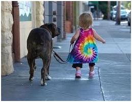 Copiii si animalele.